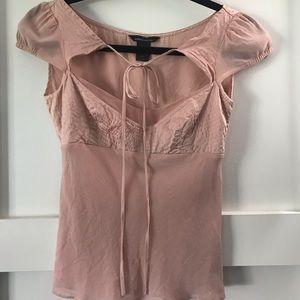 Very pretty unique silk top